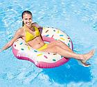 Надувной круг-тюбинг Intex 56265 Розовый пончик, фото 3
