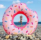 Надувной круг-тюбинг Intex 56265 Розовый пончик, фото 4