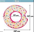Надувной круг-тюбинг Intex 56265 Розовый пончик, фото 5