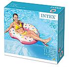 Надувной круг-тюбинг Intex 56265 Розовый пончик, фото 6