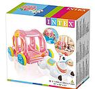 Надувной игровой центр-бассейн Intex 56514 Карета Принцессы, детский бассейн, для детей, фото 2