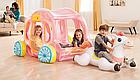 Надувной игровой центр-бассейн Intex 56514 Карета Принцессы, детский бассейн, для детей, фото 5