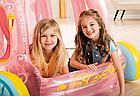 Надувной игровой центр-бассейн Intex 56514 Карета Принцессы, детский бассейн, для детей, фото 10