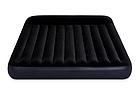 Надувной матрас Двухместный Интекс Intex 64150, 152 x 203 x 25 см, с встроенным электронасосом., фото 3