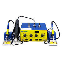 Паяльная станция BAKU BK603D фен, два паяльника, цифровая