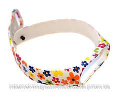 Ремешок Mi Band 3 , 4 Цветы
