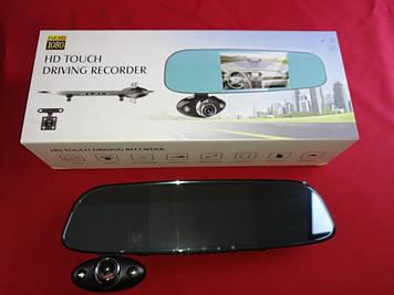 Видеорегистратор зеркало с камерой заднего вида HD Touch Driving Recorder  G15 1920x1080p