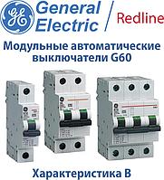 Модульные автоматические выключатели GE Redline G60 характеристика В