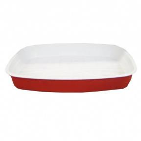 Туалет Днепр 37027758 Бело-красный Туалет Днепропетровск 37027758 бело-красный