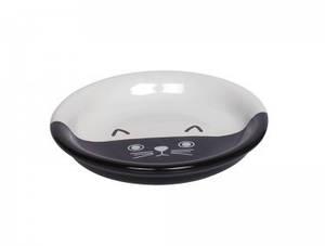 Миска для котов FACE керамическая бело-чрная Нобби 100 мл