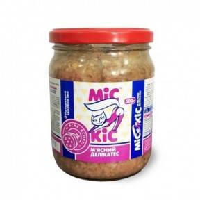 Мис Кис консервы для кошек с мясным ассорти 500г