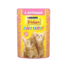 Алюпуч NEW консервы для котят курица в подливе 85г