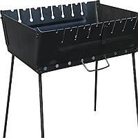 Мангал-чемодан складной на 8 шампуров