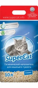 Наполнитель SuperCat Стандарт 3 кг без аромата
