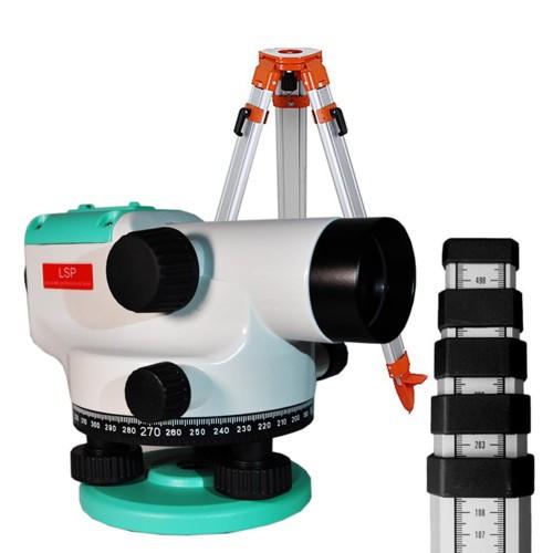 Нивелир оптический LSP LX-32  + штатив + рейка 5 м