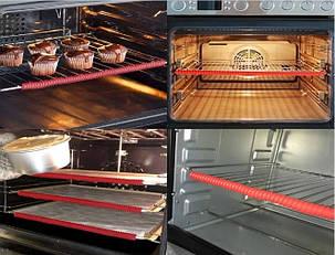 Силиконовая накладка от ожогов на решетки в духовке (Защита от ожогов для духовки), фото 2