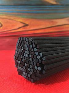 Синтетические черные палочки для диффузоров Ø3 мм/24 см/1 шт.