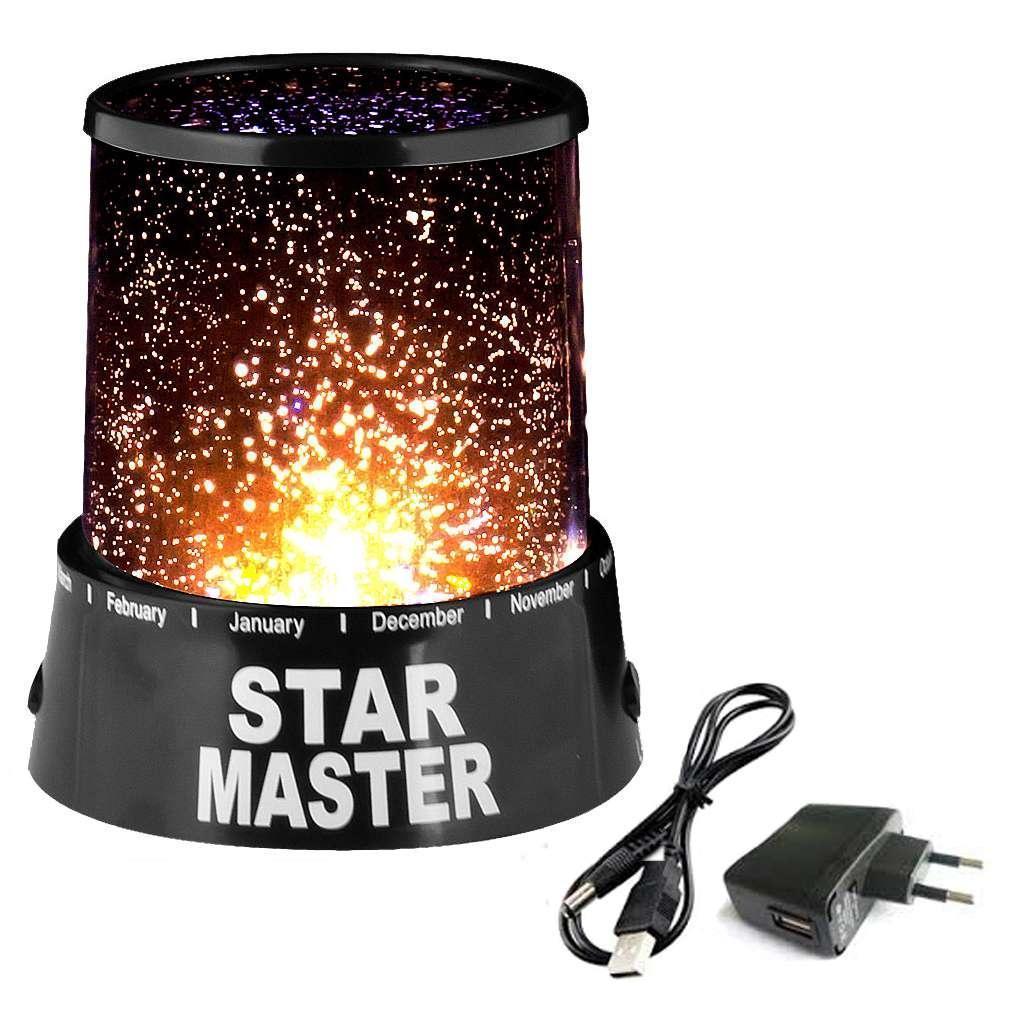 Проектор звездного неба с адаптером  Star Master