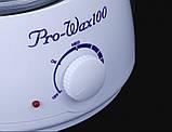 Нагреватель для горячего воска воскоплав Pro Wax 100, фото 4