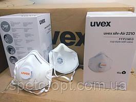 Респиратор UVEX 2210 FFP2 оригинал упаковка 15 шт.