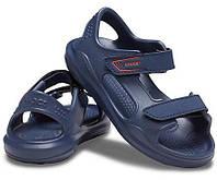 Crocs™ Kids' Swiftwater Expedition Sandal оригинал США C7 наш 23-24 (14 см) детские сандалии сандалі original