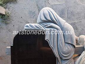 Элитный памятник из гранита Скорбящая 6