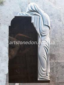 Элитный памятник из гранита Скорбящая 7