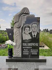 Элитный памятник из гранита Скорбящая 8