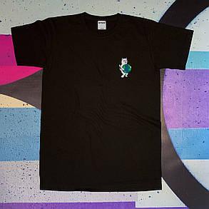 Чорна футболка RipNDip • Чоловічий та жіночий • Бірки ориг, фото 2