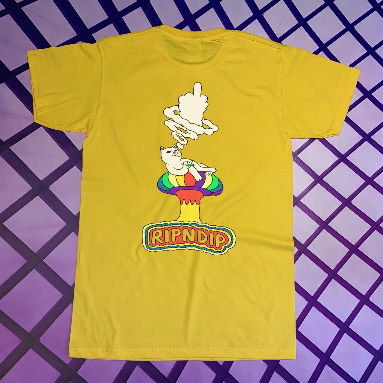 Жовта футболка RipNDip • Чоловічий та жіночий • Бірки ориг