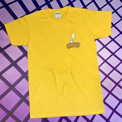 Жовта футболка RipNDip • Чоловічий та жіночий • Бірки ориг, фото 2
