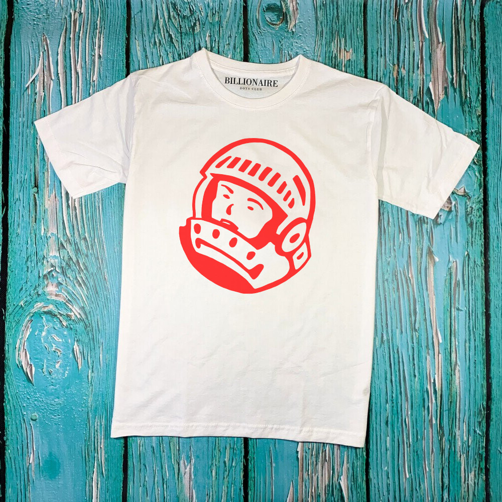 Біла футболка Billionaire