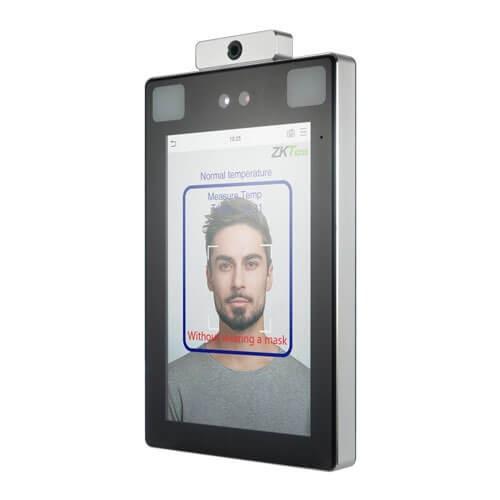 Терминал контроля доступа и УРВ по геометрии лица и венозной сетке ладони ZKTeco ProFace X [TD]