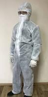 Костюм защитный, одноразовый комбинезон плотность 50 г/м.кв.