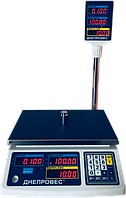 Весы торговые с поверкой  ВТД-РС (RS-232), фото 1