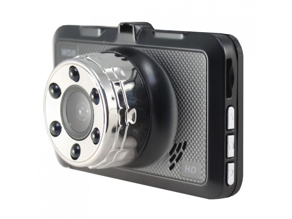 Автомобільний відеореєстратор Dash Cam T696 з камерою заднього виду, колір чорний