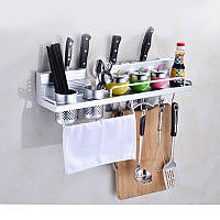 Полиця для кухні. Полиця до ванної Полку металева Полку органайзер Полиця для кухонних приладів 60 см