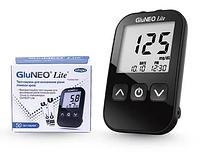 Набір! Глюкометр Глюнео Лайт (Infopia) + Тест-смужки GluNeo Lite, 50 шт.