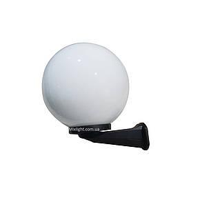Світильник настінний вуличний куля опал d-30см, фото 2