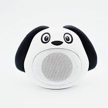 Колонка Собачка Bluetooth , белая