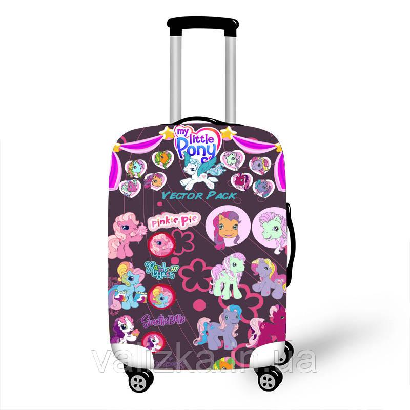 Чехол для маленького чемодана с my little pony