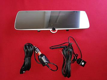Видеорегистратор зеркало Touch Screen H618 + Камера заднего вида! Full HD 1080p