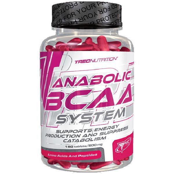 Trec Nutrition Anabolic BCAA System 150 caps