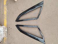 Накладки (рамки)  глухого бокового стекла ваз 2110
