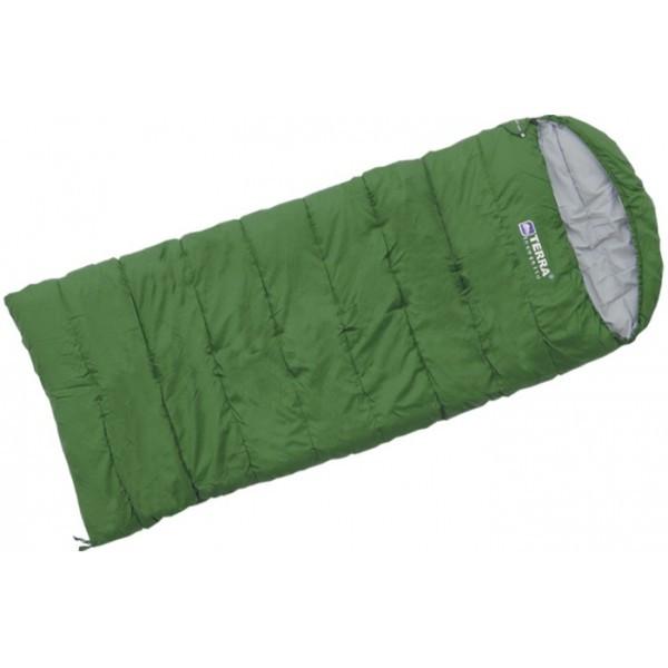 Спальный мешок Terra Incognita Asleep Wide 300 зелёный