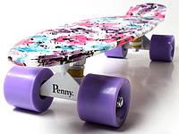 Пенни Борд Print, Penny Board Original 22 c Рисунком, светящиеся колеса