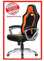 Компьютерное детское кресло Barsky SD-14 Sportdrive Game Orange, черный / оранжевый