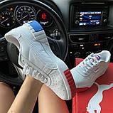 Жіночі кросівки Puma Cali White and Blue/Red., фото 4