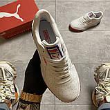 Жіночі кросівки Puma Cali White and Blue/Red., фото 6
