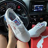 Жіночі кросівки Puma Cali White and Blue/Red., фото 7